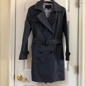 Banana republic denim trench coat. Size small.